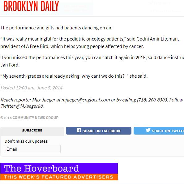 Brooklyn Daily features Godni