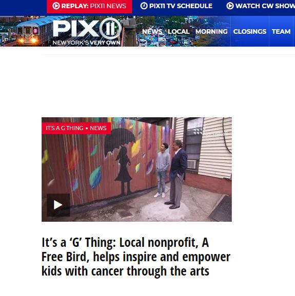 PIX 11 features Ryan